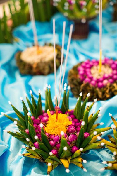 Krathong Table Decorations