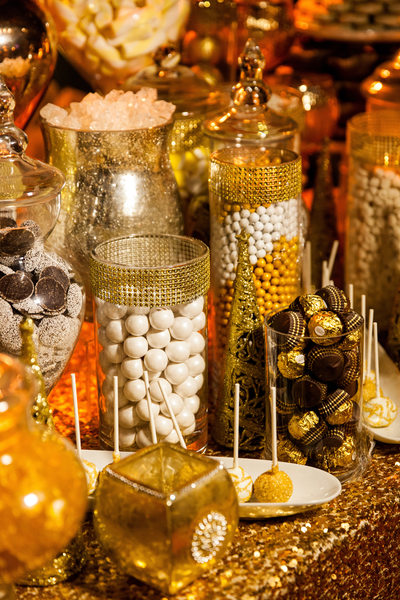Golden Candy Table