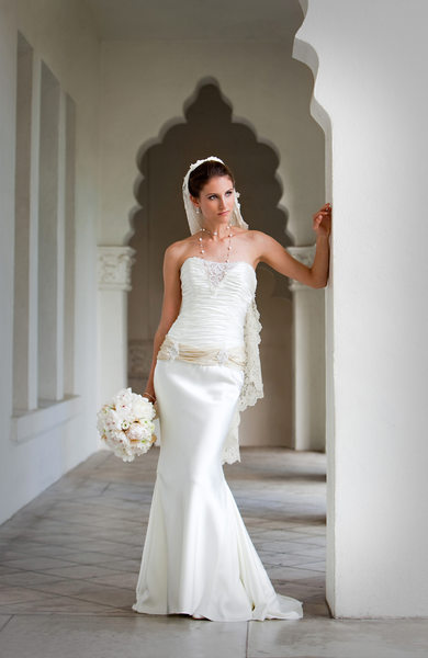 Elegant Bridal Portrait in Glendale, California