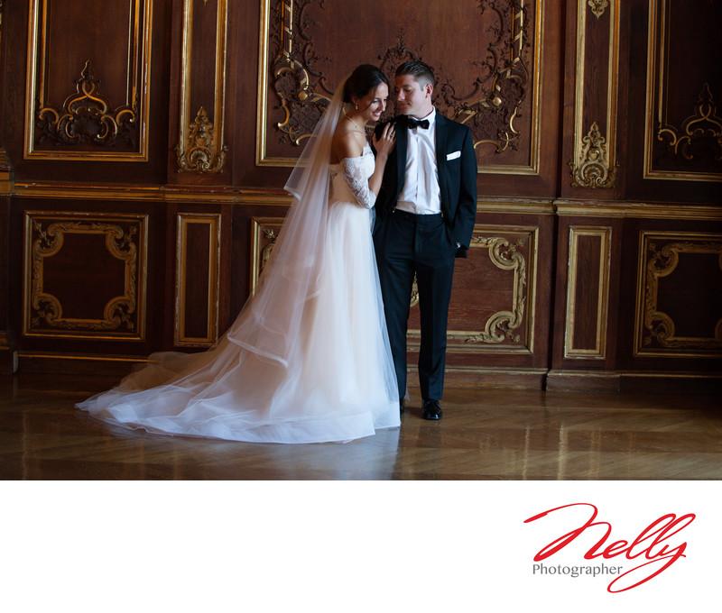 Bride & Groom formals at Ochre Court