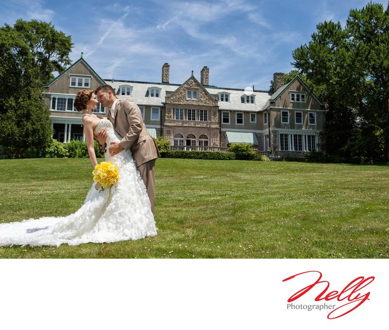 Bride & Groom Formals, Blithwold Rhode Island