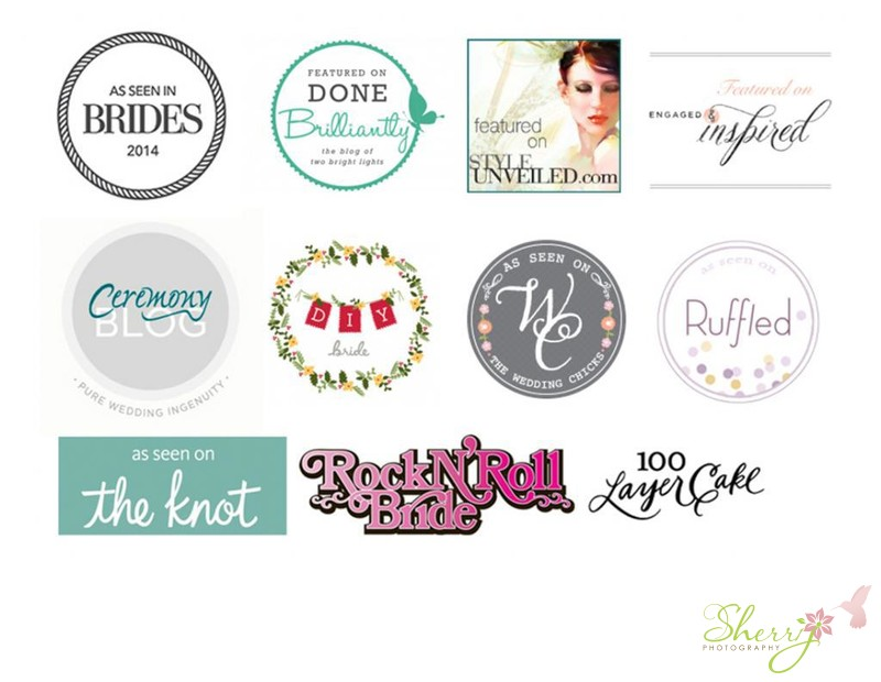 wedding publication badges