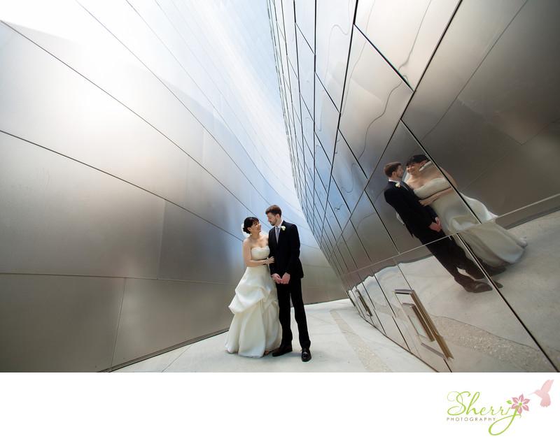 Walt Disney Concert Hall Wedding Photographer