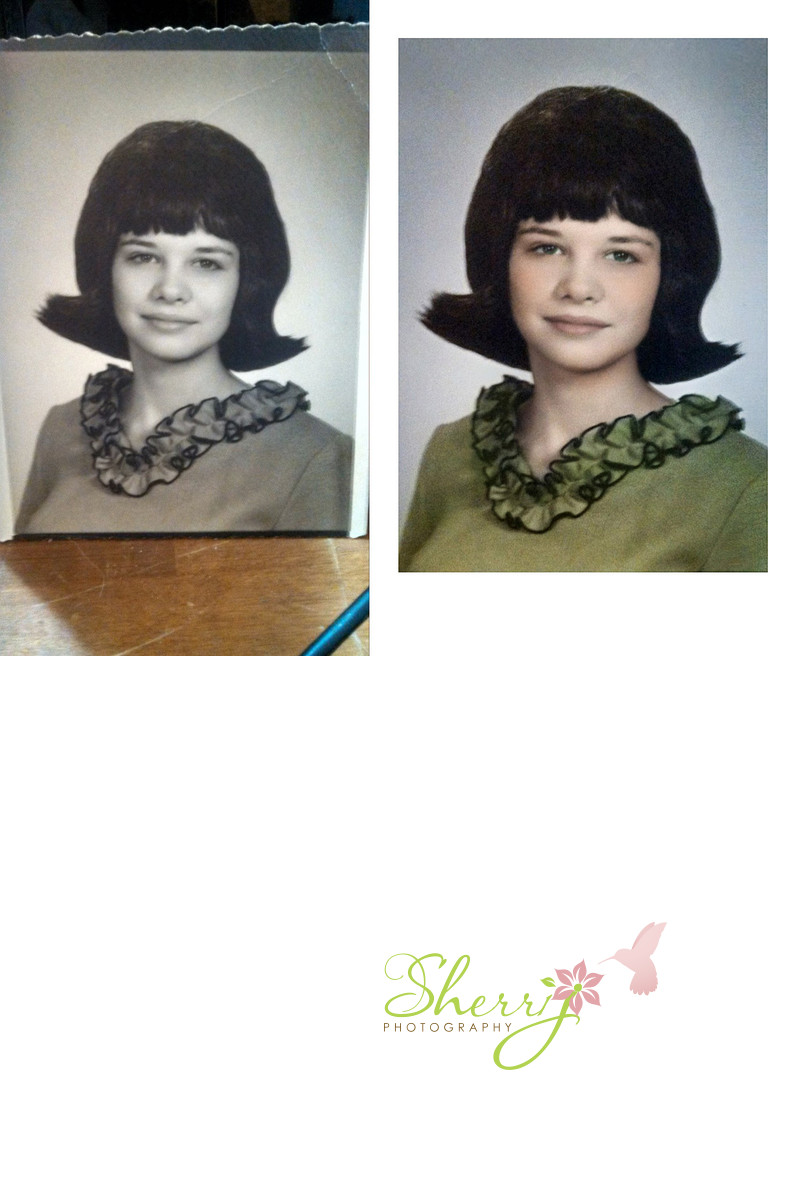 photo restoration Karen Bell Oklahoma