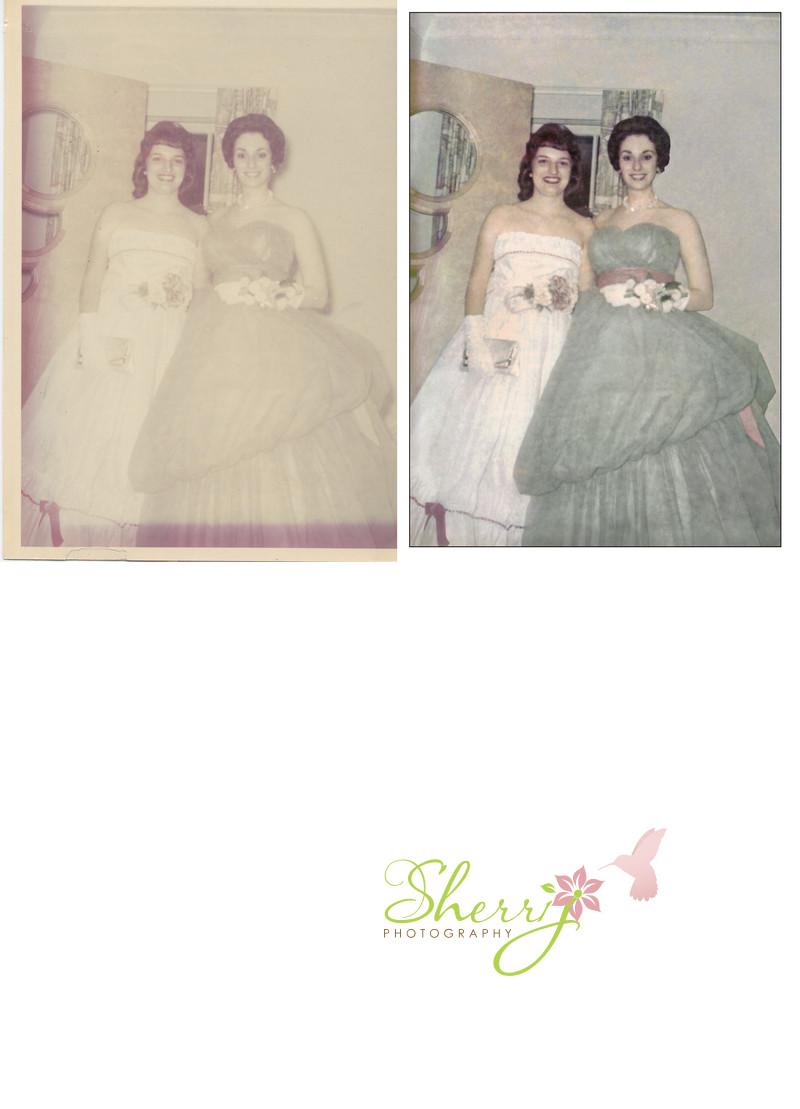 photo restoration prom