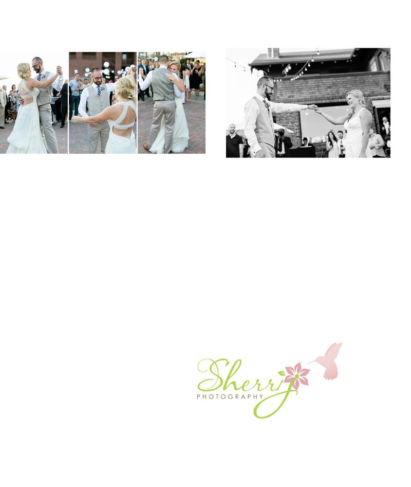 Melissa Curry Greg Adler first dance wedding