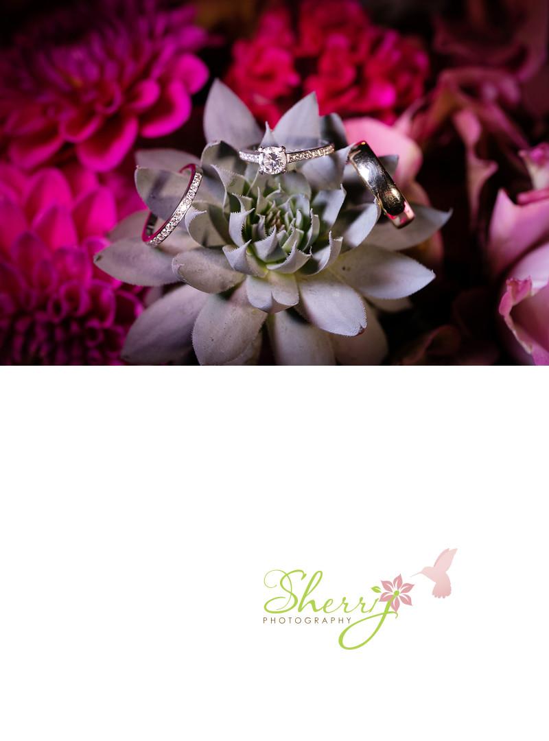 diamond wedding engagement ring set succulant