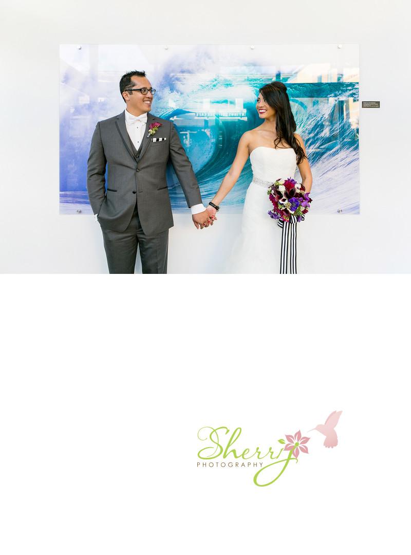 Shorebreak Hotel Wedding Bride and Groom
