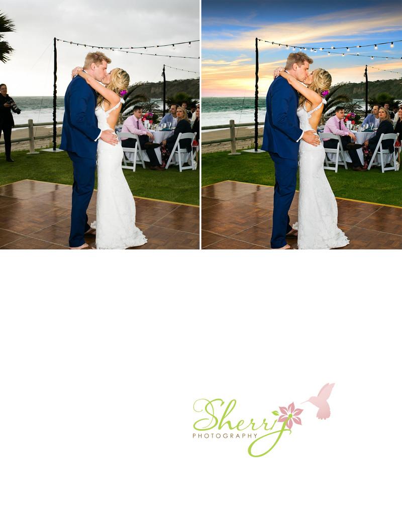 Steve Ali Beach Wedding Sunset