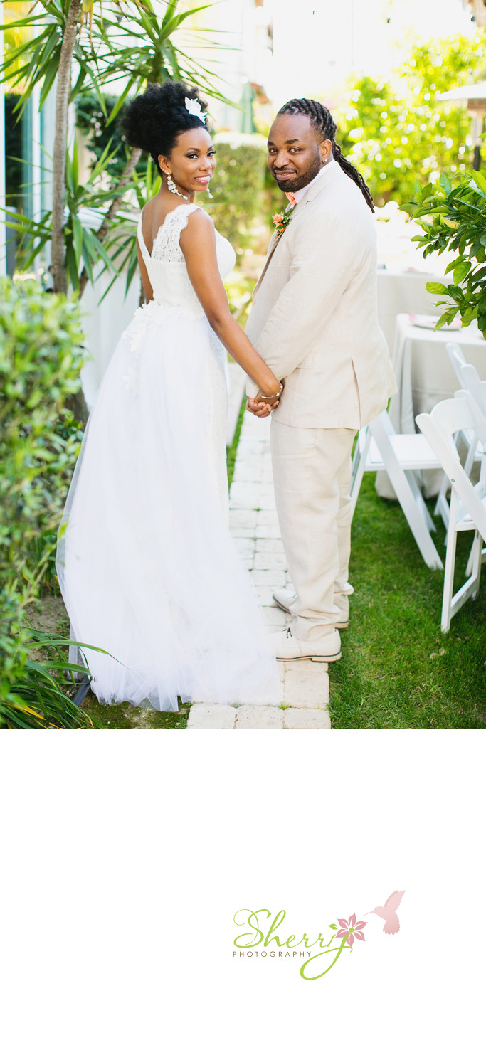 Meet the Valentines Backyard wedding