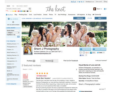 the knot top photographer los angeles california