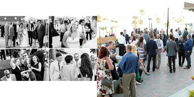 Melissa Greg Wedding Reception Long Beach Museum Art