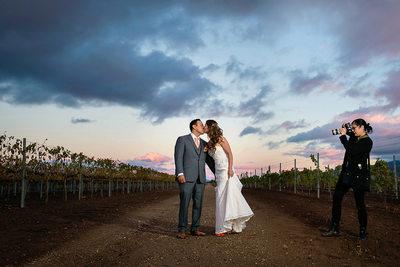 California Vineyard Wedding Photographer