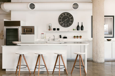 Toy Factory Loft open Kitchen