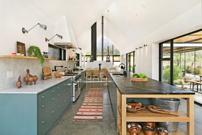 Ojai modern farmhouse kitchen