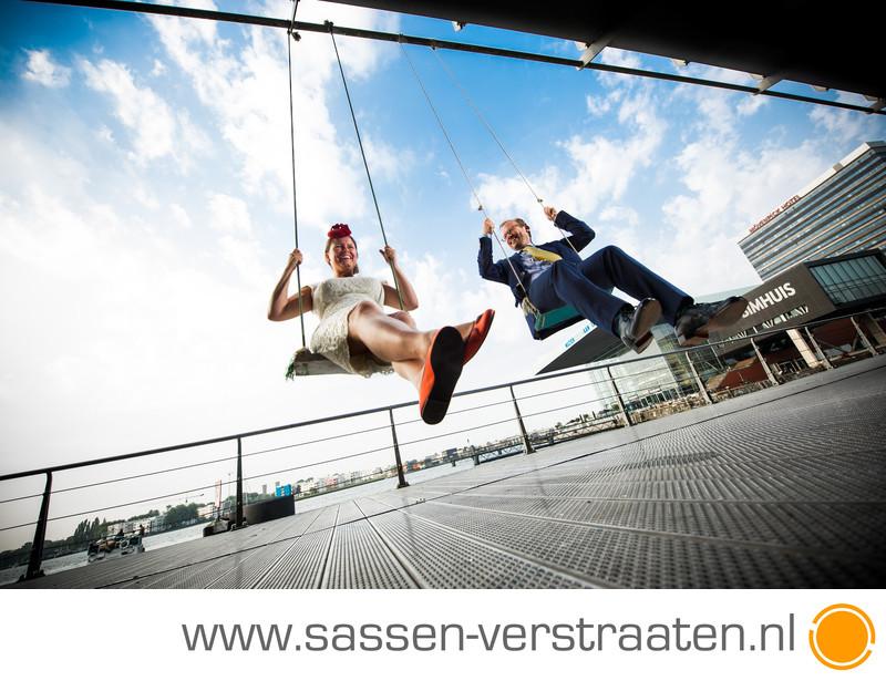 Bruidsfotograaf Amsterdam huwlijksfotografie