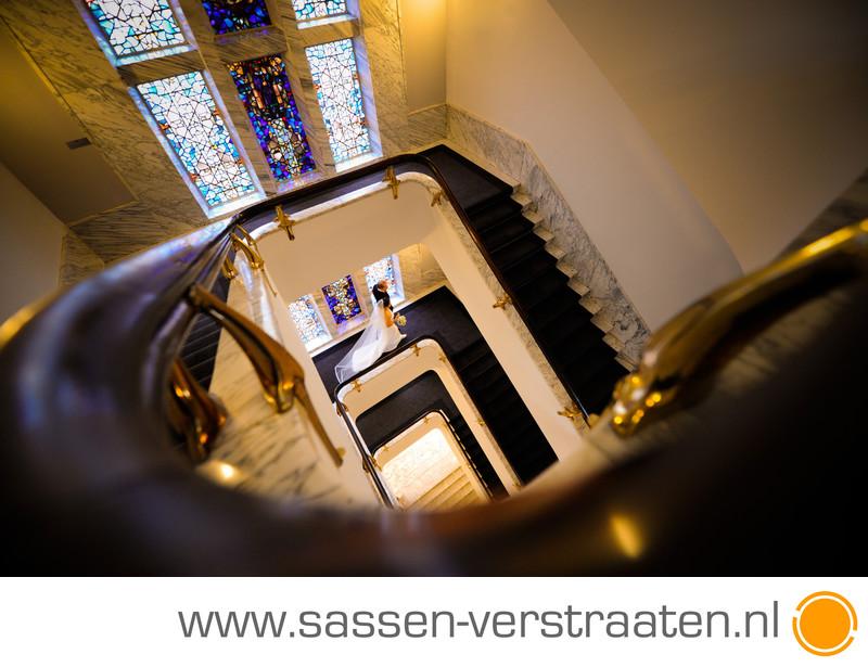 The Grand Amsterdam trouwfoto