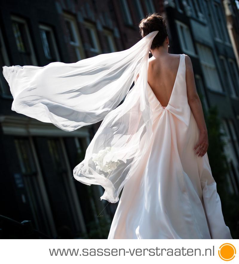 bruidsfotograaf Westindisch Huis Amsterdam