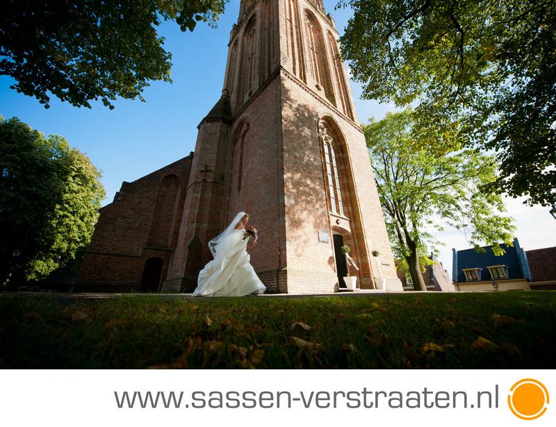 Kerkelijk huwelijk Andrieskerk Amerongen