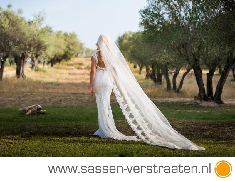 Prachtige bruid Nicolette bruidsfotografie d'emporda
