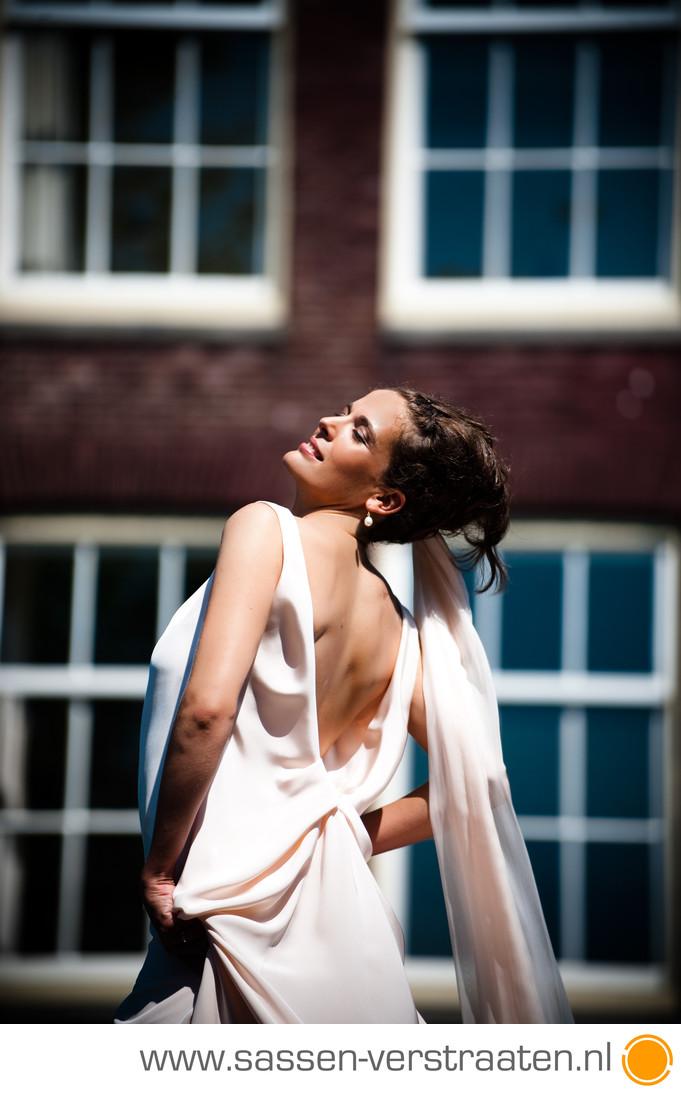 Bruidsfotograaf West Indisch Huis Amsterdam