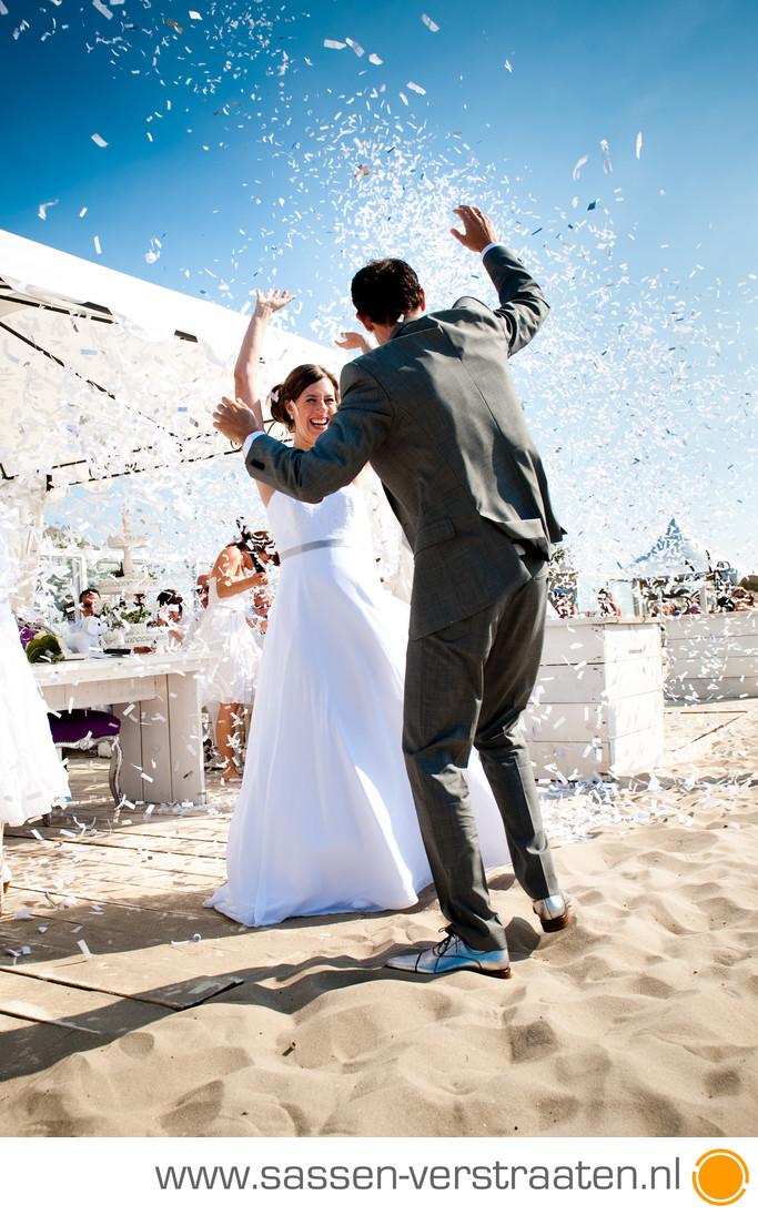 trouwfotograaf Hoek van Holland, Beachclub Zeebries