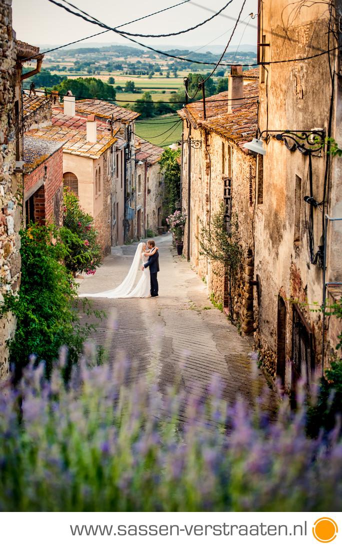 Nicolette en Bas Girona bruidsfotografen