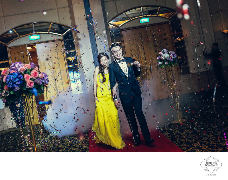 Alex & Jingping Wedding @ Grand Copthorne Waterfront