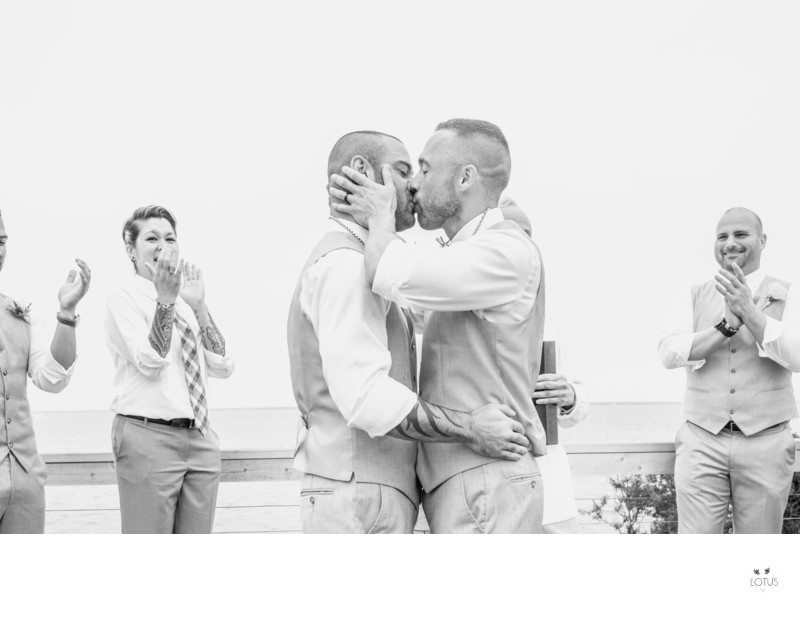 Same Sex Wedding Photographer - Fire Island, Romance