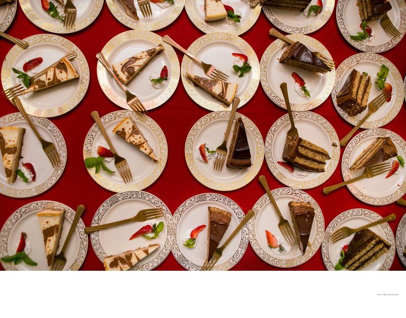 Wedding cake | Creative photography angles