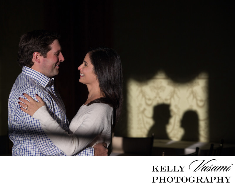 Engagement Session at Sleepy Hollow Country Club
