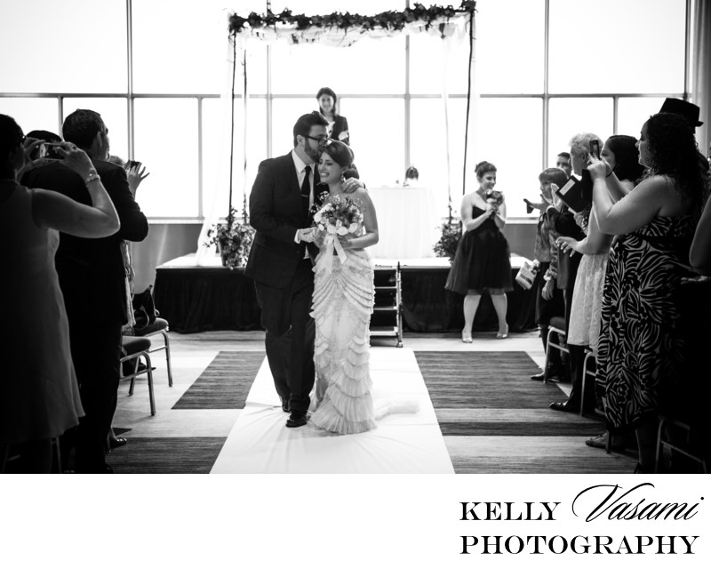 photo beautiful jewish wedding ceremony couple