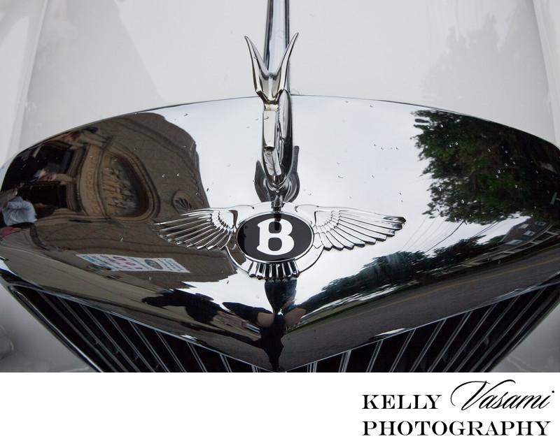 Antique Bentley | New Rochelle Rye White Plains Wedding