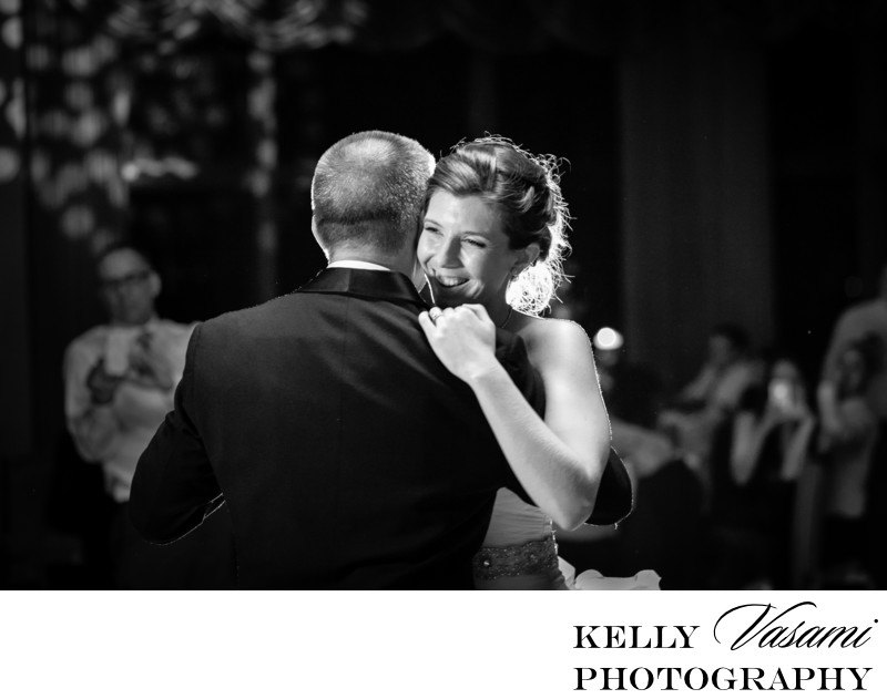 westchester bride dancing with her father