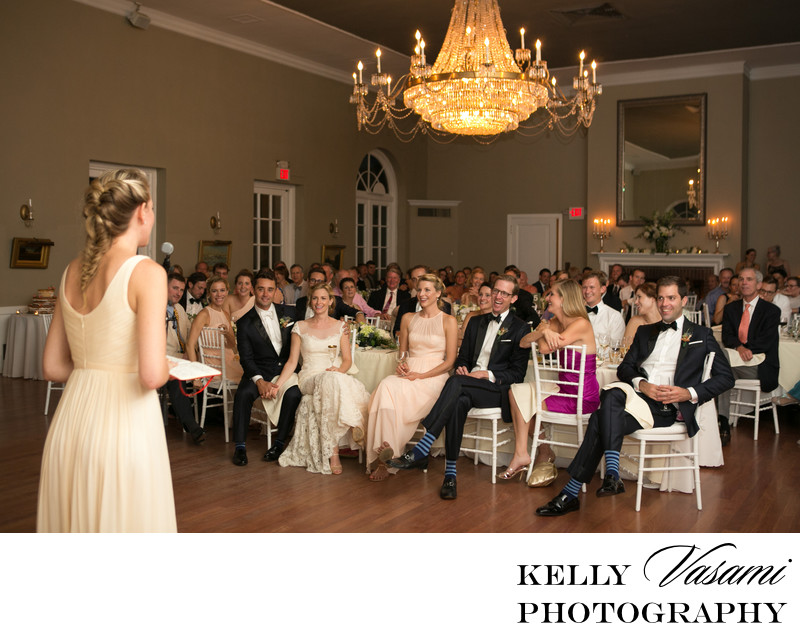 Highlands Country Club Elegant Wedding reception