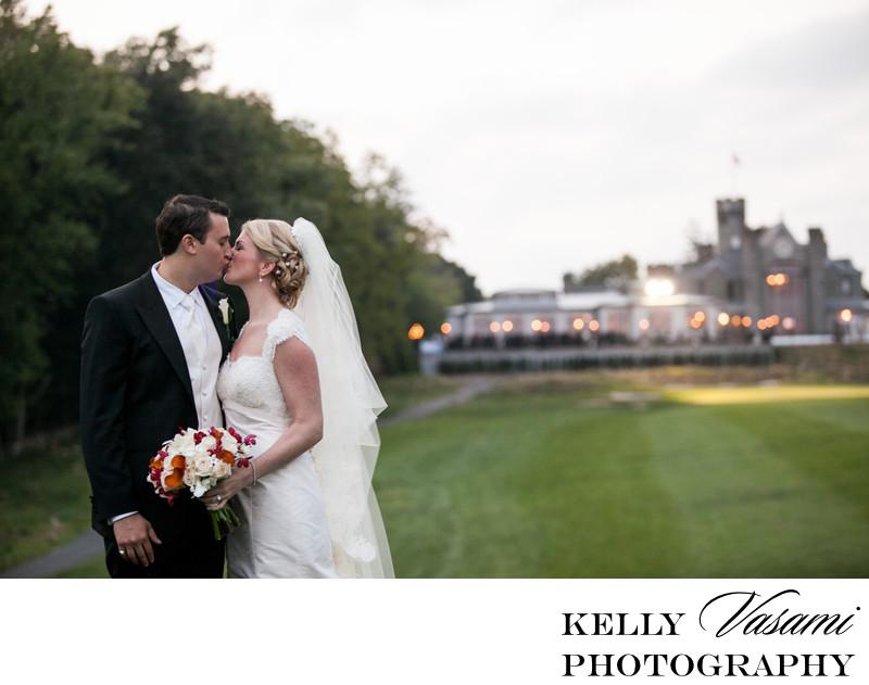 Whitby Castle Exterior Wedding Photo Rye