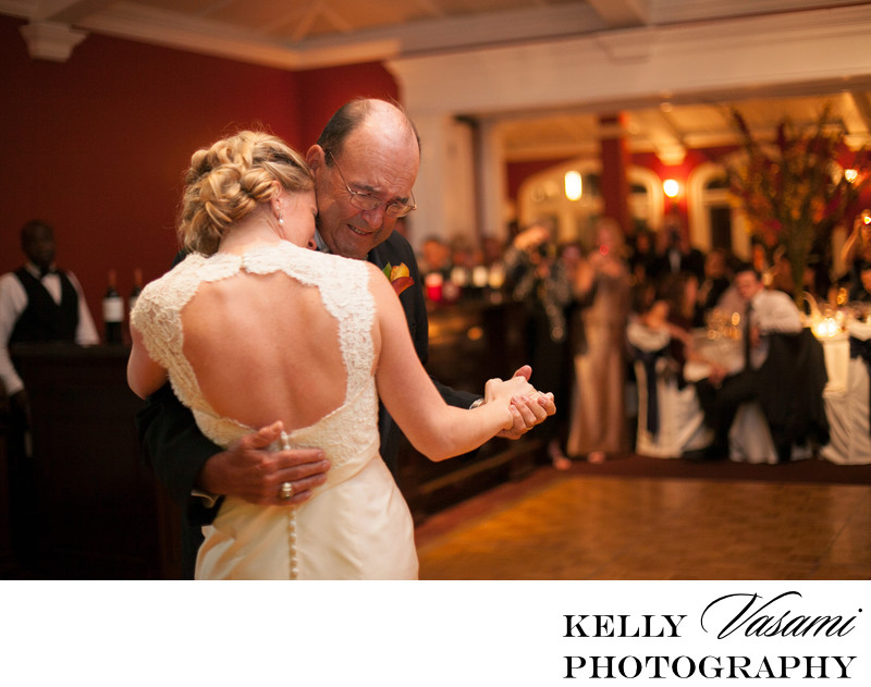 Whitby Castle | Rye NY | Bride Dancing With Father
