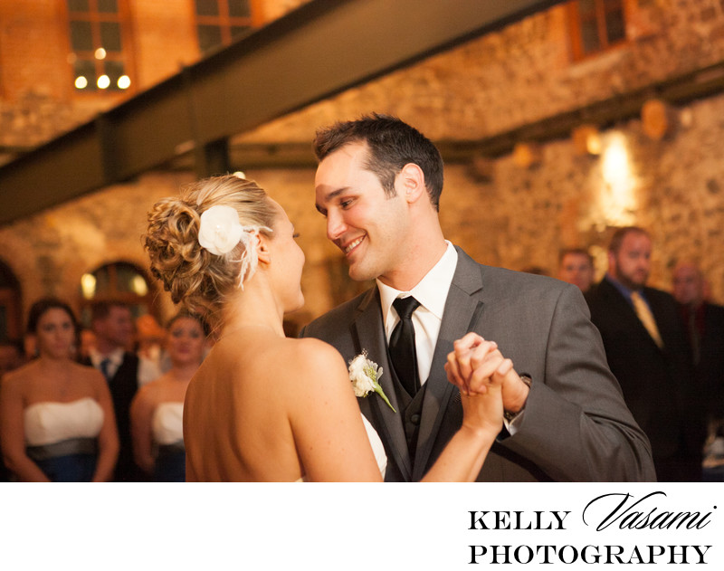 Brotherhood Winery | Candlelit Reception | First Dance