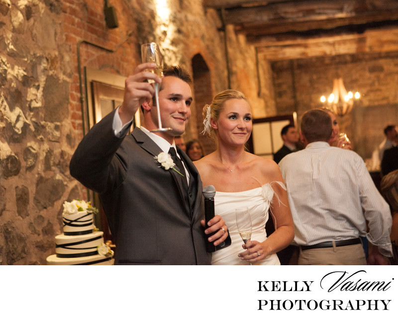 brotherhood winery wedding toast washingtonville