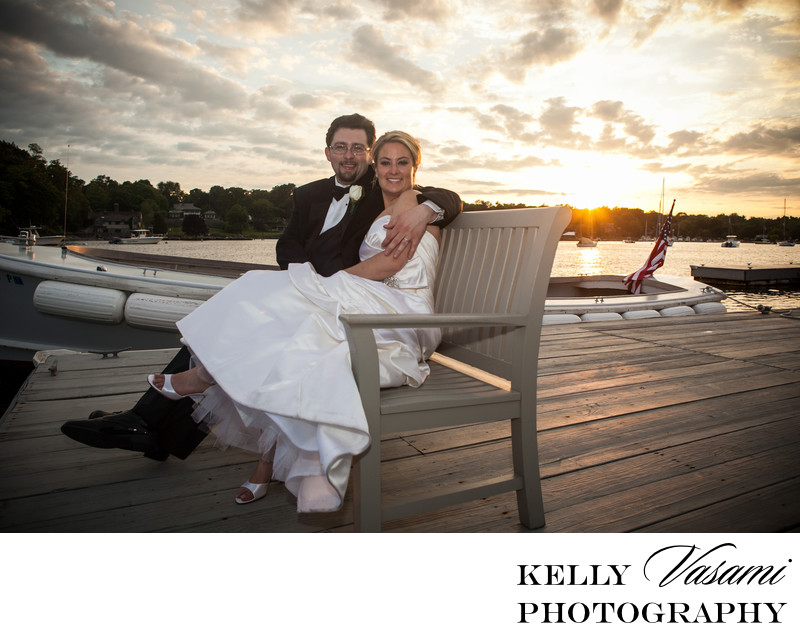 Sunset Wedding Photos | Greenwich CT | Westchester NY