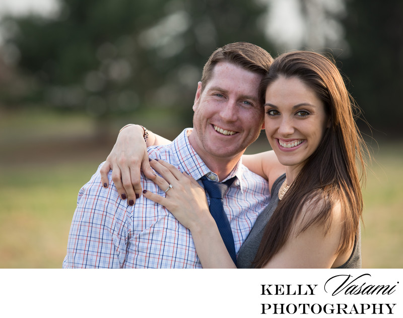 Smiling Couple | Engagement Session White Plains