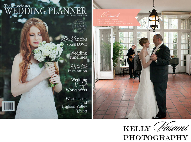 Cover of Westchester Wedding Magazine | First Issue