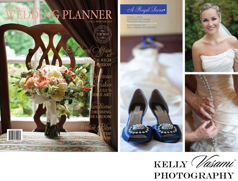 Blue Wedding at Brotherhood Winery | Wedding Magazine