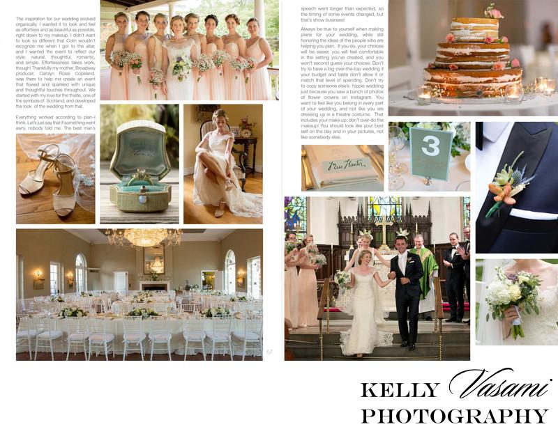 blush bridesmaid dresses wedding naked cake published