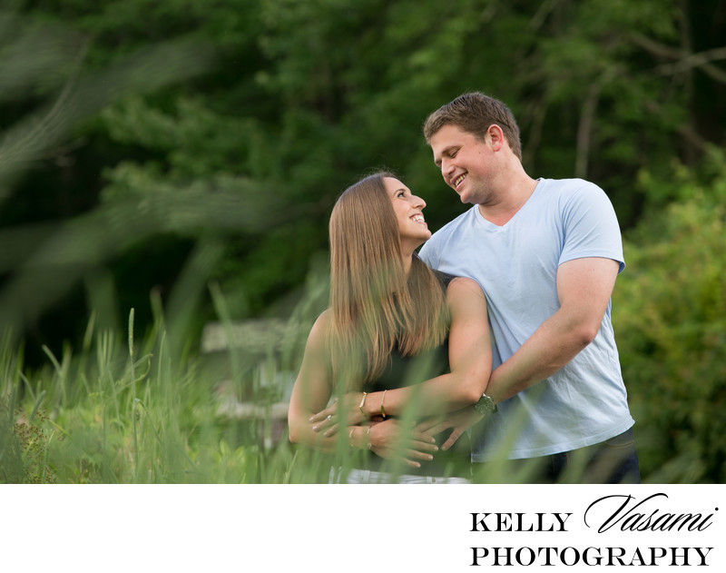 couple westchester engagement session ward pound ridge