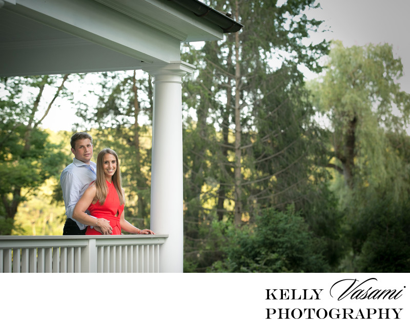 Summer engagement session in Westchester NY