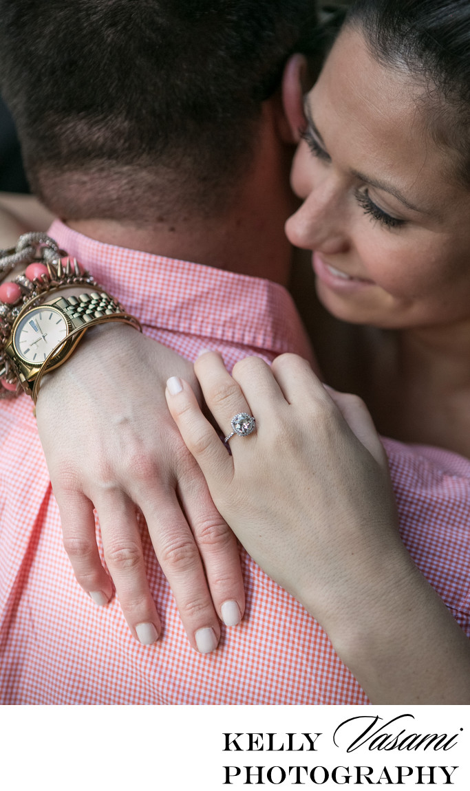 Engagement Ring | Westchester & NYC Engagement Session