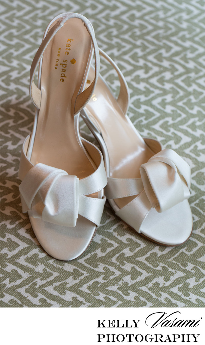 Kate Spade Bridal Shoes | Westchester NY Wedding