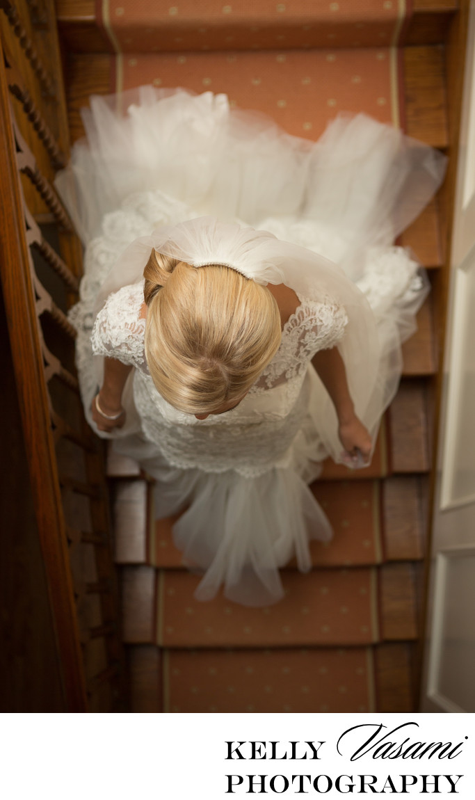 Bride Descending the Staircase