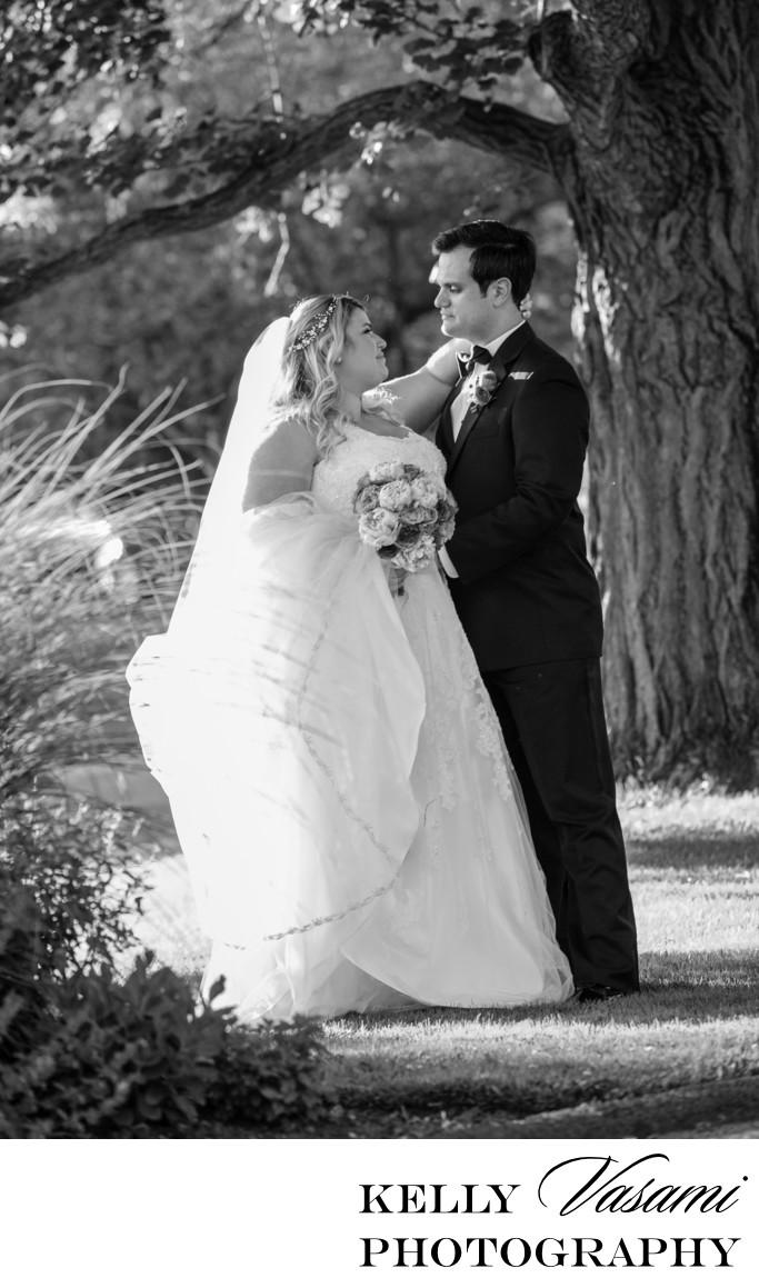 Mamaroneck Beach & Yacht Club | Bridal Portrait